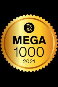 MEGA 1000 2021 Badge